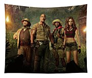 Jumanji Welcome To The Jungle 2.0 Tapestry