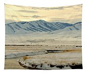 Just A Little Snow Tapestry
