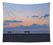 Just Before Sunrise In Asbury Park Tapestry