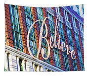 Just Believe Tapestry