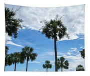 Just Palm Trees Tapestry