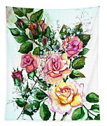 Just Roses Tapestry
