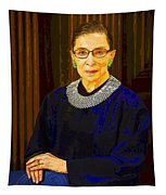 Justice Ginsburg Tapestry