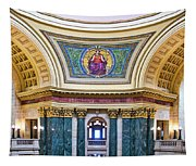 Justice Mural - Capitol - Madison - Wisconsin Tapestry