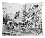 K Varnali Street Nea Erythraia  Tapestry