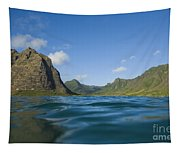 Kaaawa Valley From Ocean Tapestry