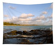 Kailua Bay Sunrise Tapestry