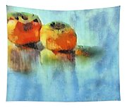 Kaki Couple Tapestry