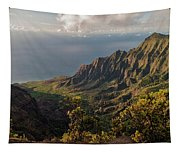 Kalalau Valley 3 Tapestry