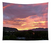 Kamloops Sunset 2 Tapestry
