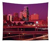 Kansas City Skyline 1991 Tapestry