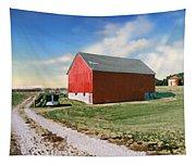 Kansas Landscape II Tapestry