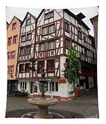 Karlsbaderplatz Bernkastel Kues Germany Tapestry