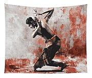 Kathak Dancer  Tapestry