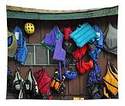 Kayakers Dream Tapestry