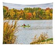 Kayaking In Fall Tapestry