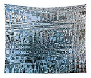 Keeping It Cool - Abstract Art Tapestry