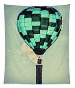 Keeping Warm As You Float Tapestry