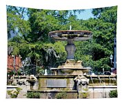 Kenan Memorial Fountain Tapestry