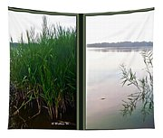 Kennersley Pt Marina 3d Crossview Stereo Tapestry
