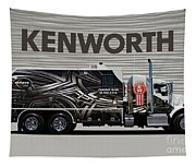 Kenworth Proudly Made In The Usa Tapestry