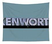 Kenworth Semi Truck Logo Tapestry