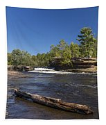 Kettle River Big Spring Falls 7 Tapestry