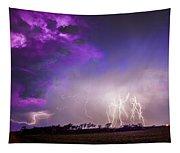 Kewl Nebraska Cg Lightning And Krawlers 038 Tapestry