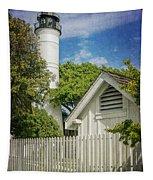Key West Lighthouse Dsc01547_16 Tapestry