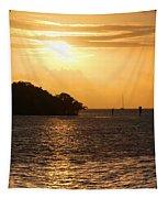 Key West Mangrove Sunrise Tapestry