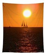 Key West Sunset Tapestry