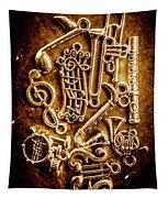 Keys Of A Symphonic Orchestra Tapestry