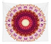 Kindness Mandala Art By Sharon Cummings Tapestry