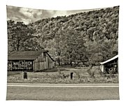 Kindred Barns Sepia Tapestry