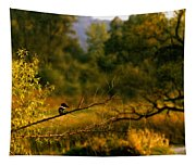 King Fisher Tapestry