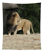 King Of Beasts Tapestry