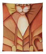 King Of The Cats Tapestry