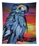 King Parrot 01 Tapestry