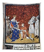 King Philip Iv Of France Tapestry