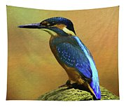 Kingfisher Perch Tapestry