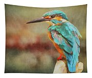 Kingfisher's Perch Tapestry