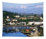 Kinsale, Co Cork, Ireland View Of Boats Tapestry