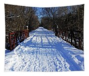 Kissing Bridge Trail Tapestry