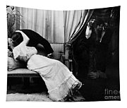 Kissing, C1900 Tapestry