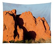 Kissing Camels Formation At Garden Of The Gods Tapestry
