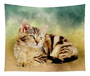 Kitten - Painting Tapestry