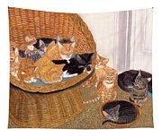 Kitty Litter I Tapestry