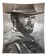 Klint Eastwood Tapestry