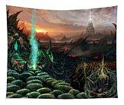Kneel Away Your Power Tapestry