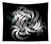 Knotplot 1 - Use Red-cyan 3d Glasses  Tapestry